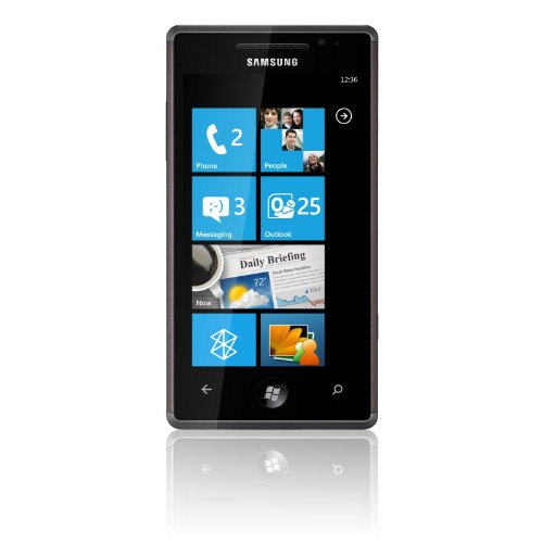 Samsung I8700 Omnia 7 Unlocked Smartphone with Windows Phone 7, Touch Screen, 5 MP Camera, 8 GB Built-in Memory--No Warranty (Black)