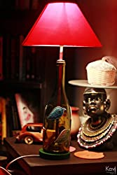 Kavi Chirp Glass Lamp - (Multicolor)