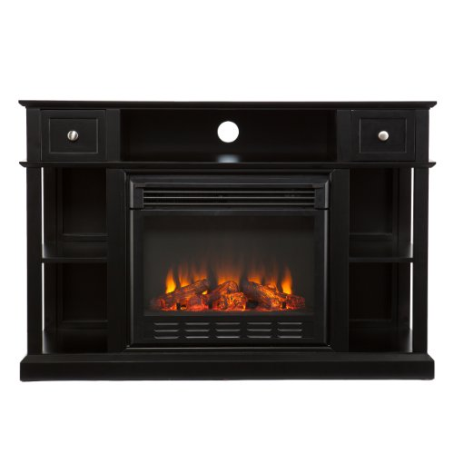 Southern Enterprises AMZ5939FE Smith Media Console/Stand Electric Fireplace, Black picture B00FPHPWK6.jpg