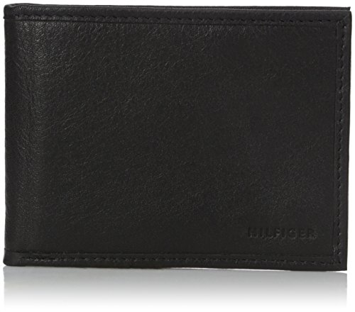 Tommy Hilfiger Men's Maddox Billfold Wallet with Money Clip, Black, One Size (Tommy Money Clip compare prices)