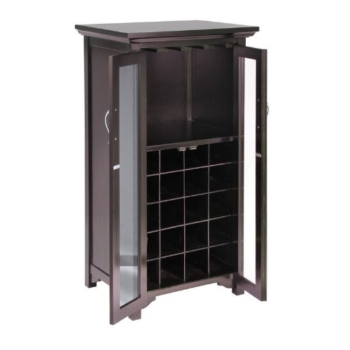Wood Wine Cabinets back-419700