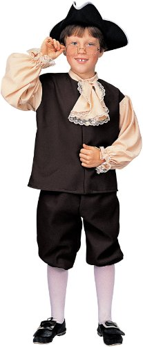 Colonial Boy Costume - Medium