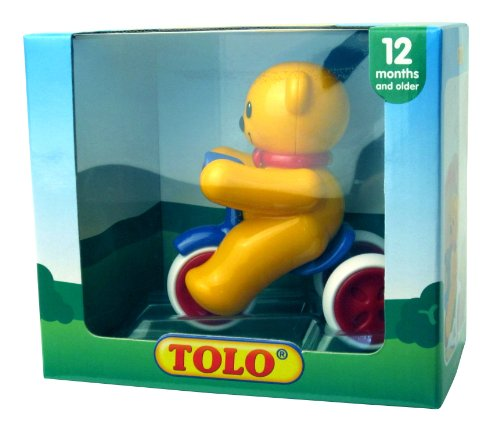 Tolo Toys Push And Go Teddy front-599237