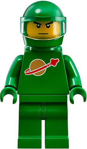 LEGO Ideas CUUSOO Minifigure Pete Green Astronaut from Exo Suit (21109) - 1