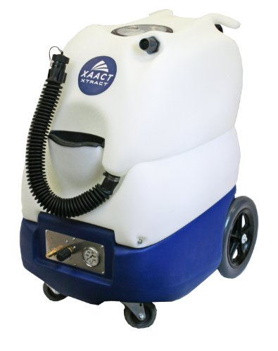 "Xaact Xtract X-500Hxo Heated Portable Carpet Extractor, Includes Xodus Titanium Carpet Wand, 50-500 Psi Adjustable Pump, 15 Gallon Capacity, 32"" Length X 23-1/2"" Width X 36-3/4"" Height"