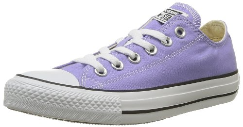CONVERSE Unisex-Adult Chuck Taylor All Star Season Ox Trainers 015760-550-162 Lavender 6 UK, 39 EU