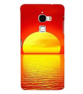 EPICCASE Sunrise Mobile Back Case Cover For LeTV Le Max (Designer Case)