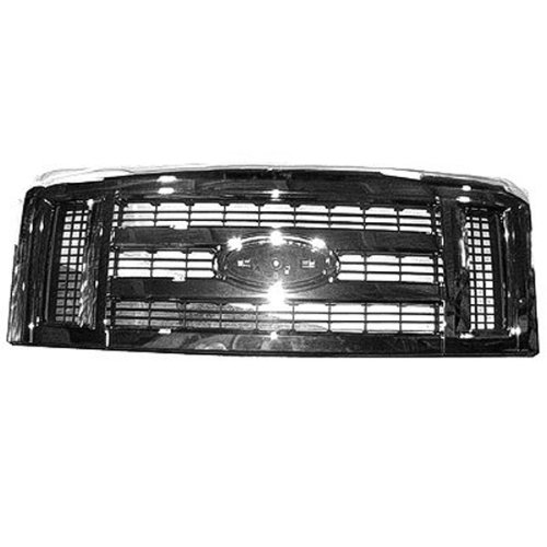 Chrome Front Genuine GM 20966058 Grille