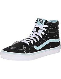 Vans SK8 Hi Shoes, Pop Black/Blue Tint
