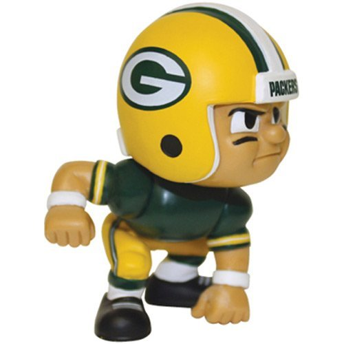 NFL Green Bay Packers Lil' Teammates Lineman Figurine Series 2 by Party Animal Toys (Lil Teammates Green Bay compare prices)