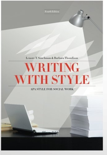 Writing with Style: APA Style for Social Work (Social...