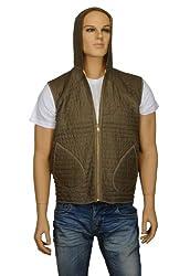 Vintage Cotton Checkered Brown Jacket Winter Wear By Rajrang