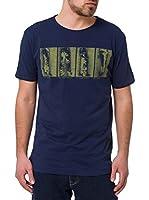 Cross Camiseta Manga Corta (Azul Oscuro)