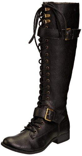 Rocket Dog Womens Beany Combat Boots