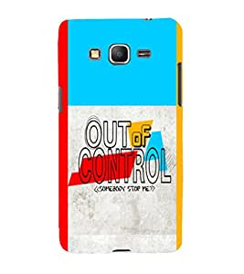 printtech Cool Quotes Back Case Cover for Samsung Galaxy Grand Prime G530h