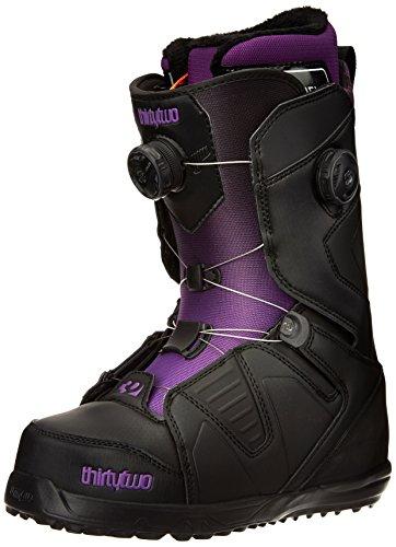 thirtytwo Women's Binary BOA W's Snowboard Boot, Black, 6.5 M US