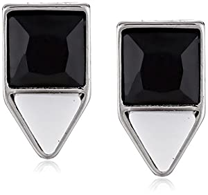 "Carolee ""Miami Mod"" Color Block Post Earrings"