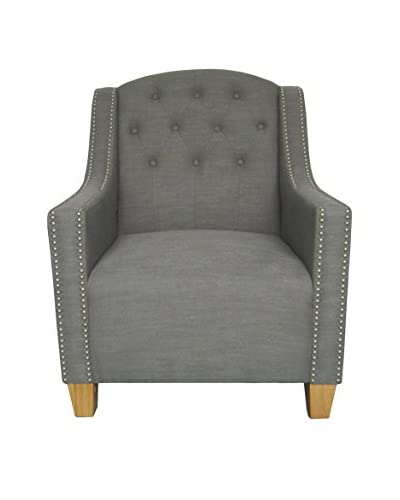 Tottenham Court Billy Armchair, Grey