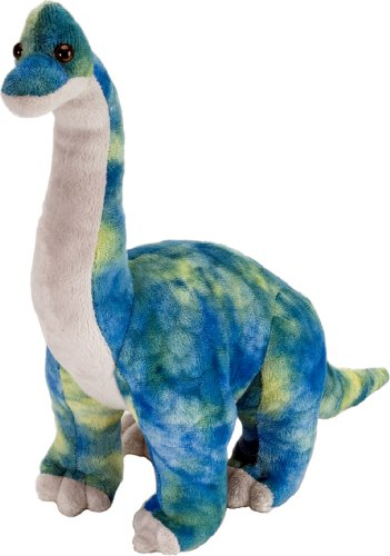 "Wild Republic Dinosauria Mini Brachiosaur 10"" Plush"