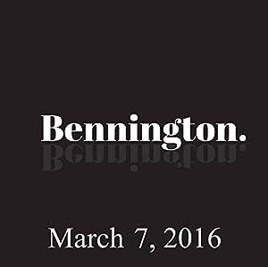 Bennington, Judah Friedlander, March 7, 2016 Radio/TV Program