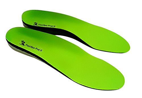 FootSpa Pro Plantar Fasciitis Insoles, Orthotic Insoles, Relief from Heel and Foot Pain, Insoles Support Arch and Heel, Provides Extreme Comfort, Suitable For Most Foot And Related Conditions (Orthotic Inserts Superfeet compare prices)