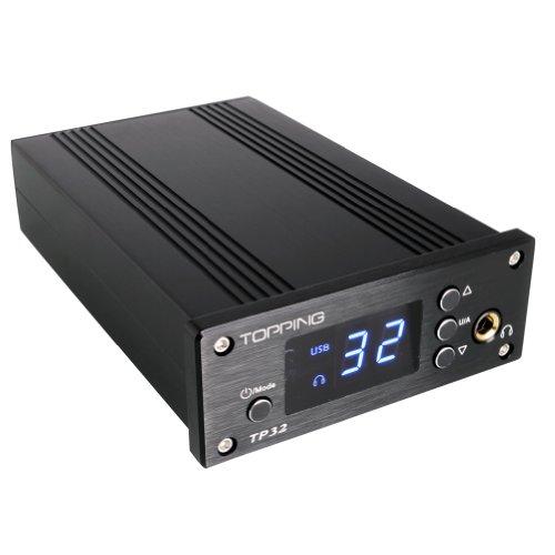 Topping Tp32 Ta2024B T-Amp 2X15W Tripath Class Headphone Amp Usb Dac Black