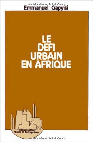 Le défi urbain en Afrique