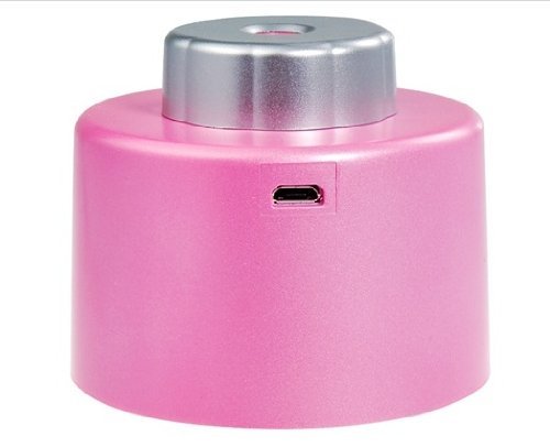 Creative Bottle Cap Mini Usb Air Humidifier (Pink)