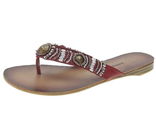 Beppi Shoe Sneakers Sportiva da uomo, rosso (Rot), 38 EU