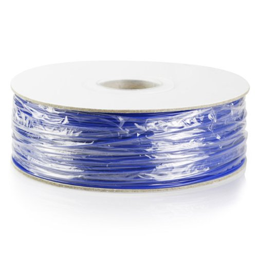 Barsoom Blue 1.75mm 2.6lbs/1.2kg Natural ABS 3D Filament on Spool for MakerBot RepRap MakerGear Solidoodle Ultimaker & Up! 3D Printer