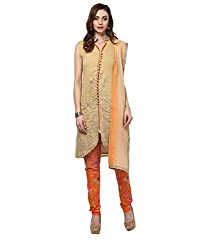 Yepme Women's Multi-Coloured Blended Semi Stitched Suit - YPMRTS0232_Free Size