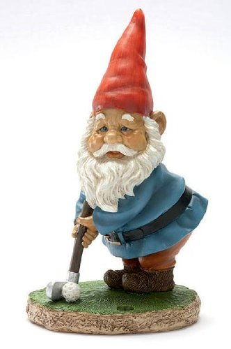 Gnome In Garden: Gnomes (UK): Novelty Garden Gnomes Statue / Ornament