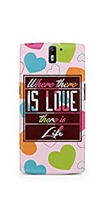 Casenation There Is Life OnePlus One Glossy Case