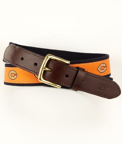 Vineyard Vines Nfl Chicago Bears Canvas Club Belt, 36-Inch front-152297
