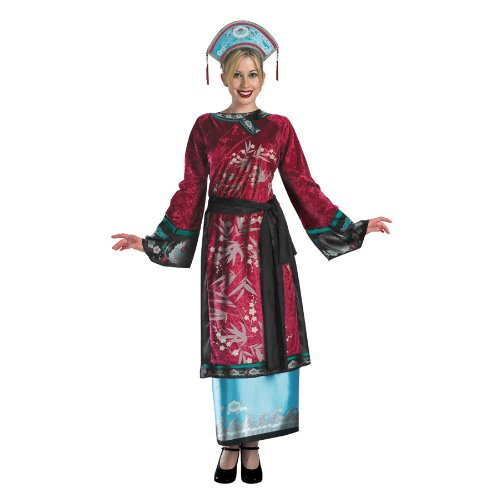 Elizabeth Geisha Adult Deluxe Pirates of The Caribbean Movie Costume