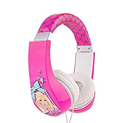 Barbie Kid Safe Over the Ear Headphone w/ Volume Limiter (30359)