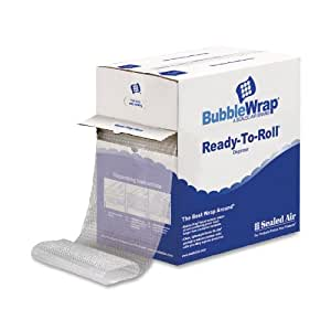 Sealed Air Recycled 5/16 Inch x 12 Inch x 100 Feet Bubble Wrap (91145)