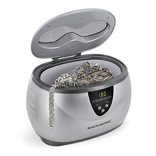 Magnasonic Professional Ultrasonic Jewelry Cleaner Digital Timer