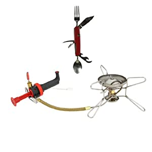 MSR Whisperlite Stove With Free Separating Chowset by MSR