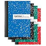Office Depot(R) Brand Mini Marble Composition Books, 3 1/4in. x 4 1/2in., Narrow Ruled, 80 Sheets, Assorted Colors (No Color Choice), Pack Of 4