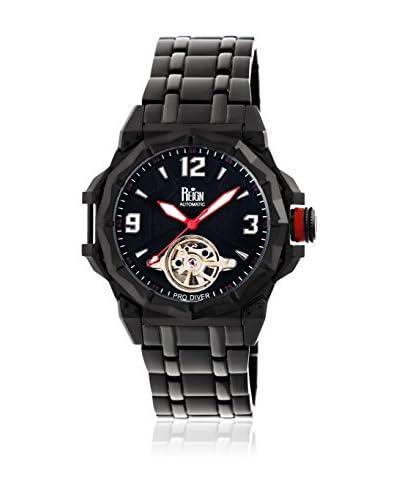 Reign Reloj con movimiento automático japonés Hapsburg Reirn1404 Negro 44  mm