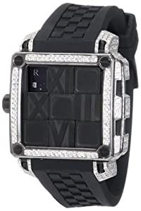 Ritmo Mundo Women's D511/2 BLK Diamond Puzzle Slide Case Automatic Watch
