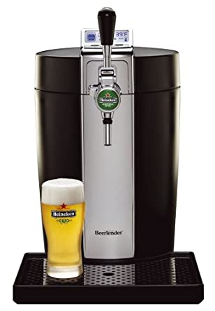 BeerTender from Heineken and Krups B95 Home Beer-Tap System