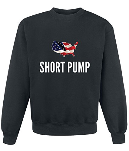 Felpa Short pump city Black