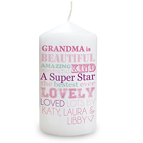 She Is... Candle. This is a great product that can be personalised to your requirements ( please see main discription for full details ) Ideal gifts and presents for weddings, Christenings, Birthdays, Christmas etc...