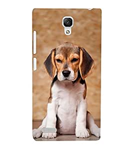 Dog with Big Ears 3D Hard Polycarbonate Designer Back Case Cover for Xiaomi Redmi Note :: Xiaomi Redmi Note 4G
