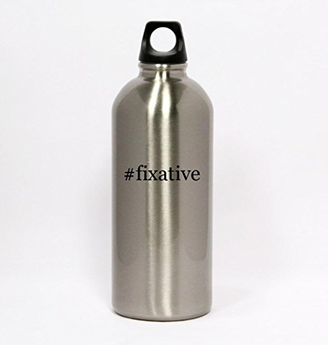 fixative-hashtag-silver-water-bottle-small-mouth-20oz