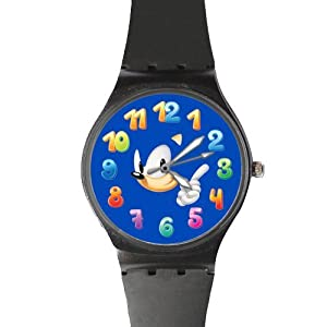 Watchize Sonic the Hedgehog 2 Watch Custom Time Keeper Wrist Watch Black
