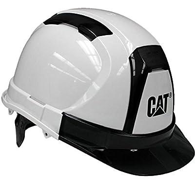 Cat Ratchet Suspension Hard Hat White
