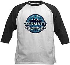 CafePress Kids Baseball Jersey - Zermatt Ice Kids Baseball Jersey